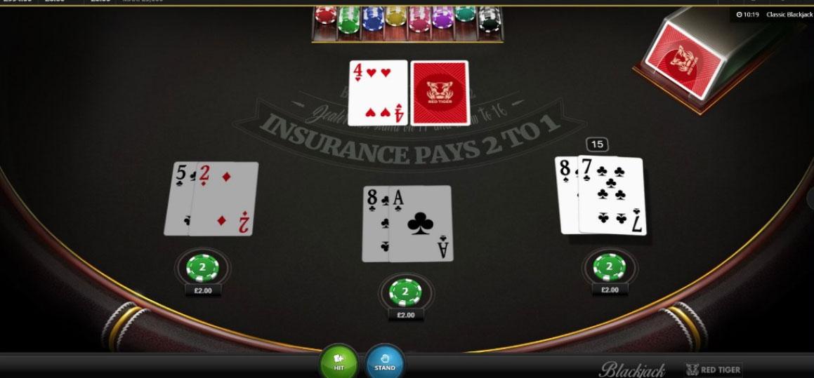 Blackjack Clasic